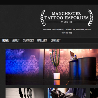 Manchester Tattoo Emporium Website